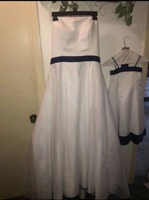 Wedding dress and 2 flower girl dresses for Sale in Austin, TX