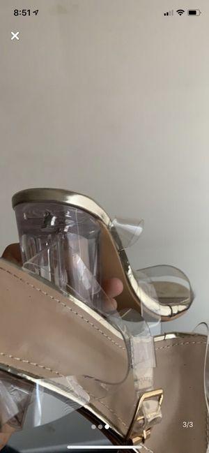 Transparent heels size8 for Sale in Cincinnati, OH