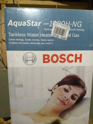 Bosch tankless water heater for Sale in Columbus, OH