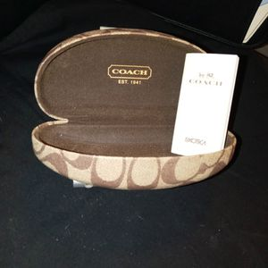 Coach Sunglasses Case With Info Packet for Sale in Cedar Park, TX