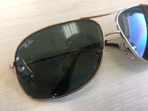 Ray Ban Cockpit Aviator Sunglasses Gold Frames for Sale in Bellflower, CA