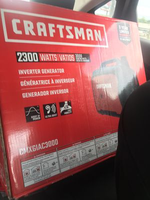 Craftsman 2300 watts brand new in box for Sale in Austin, TX