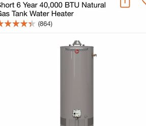 50 Gallons Gas Water Heater for Sale in Doraville,  GA