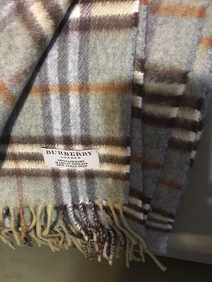 Gently used Burberry men's scarf for Sale in Annandale, VA