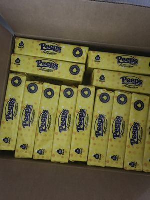 New case of PEEPS Easter candy 24 boxes 🐰 for Sale in West Palm Beach, FL