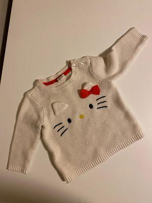 H&M Girls Hello Kitty Sweater 6-9months for Sale in Auburn, WA