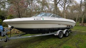 1997 21' SeaRay BowRider with Trailer around 258 hours on it for Sale in Norfolk, MA