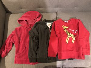 Girls sweater and jackets -4t and 5t for Sale in Covina, CA