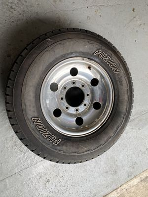1 tires and rims 265/70/16 for ford for Sale in Braintree, MA