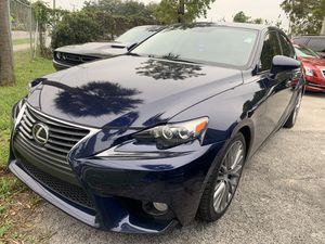 2014 Lexus IS 250 fully loaded back up camera Navi CLEAN TITLE **********$14997 a/f for Sale in Hollywood, FL