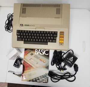 VINTAGE ATARI 800 COMPUTER SYSTEM 800,400,410,850 WITH MANUALS & GAMES for Sale in LAUD BY SEA, FL