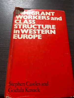 Immigrant Workers and Class Structure in Western Europe for Sale in Washington, DC