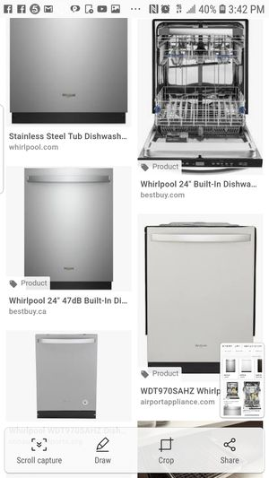 Dishwasher whirlpool brand new for Sale in Hillcrest Heights, MD