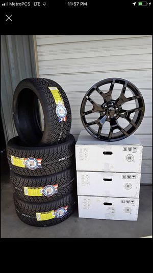 24 Inch⚡️Tires= 305 35 24✨295 35 24✨2 years warranTY for Sale in Mansfield, TX