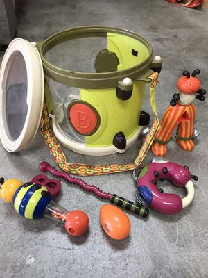 Drum toy set instrument baby toddler music sensory for Sale in Lake Forest, CA