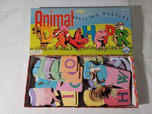 eeBoo Animal Spelling Puzzles for Sale in Petaluma, CA