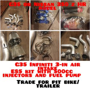 Air intake system fuel pump and injectors all brand new for Sale in Crestline, CA