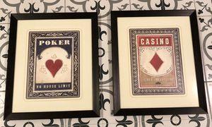 Poker Card Framed Art for Sale in Phoenix, AZ