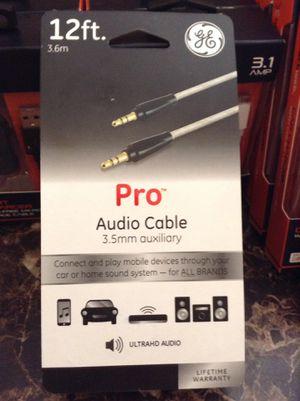 GE PRO audio cable for Sale in San Bernardino, CA
