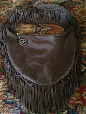 MICHAEL KORS LARGE SUEDE FRINGE CROSSBODY for Sale in Waco, TX