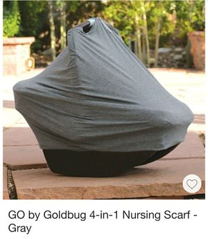 4-in-1 car seat cover/nursing cover like NEW! for Sale in Odessa, TX