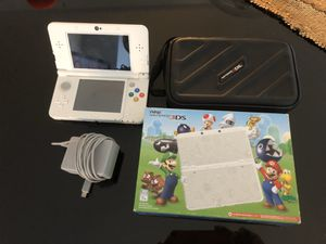 Nintendo 3DS Super Mario White Edition for Sale in Lakewood, CO