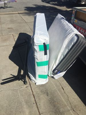 Brand new Sealy twin bed NEEDS TO GO! for Sale in San Jose, CA