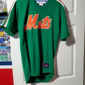 Nolan Ryan Cooperstown Green/orange Mets Jersey Sz M for Sale in Staten Island, NY