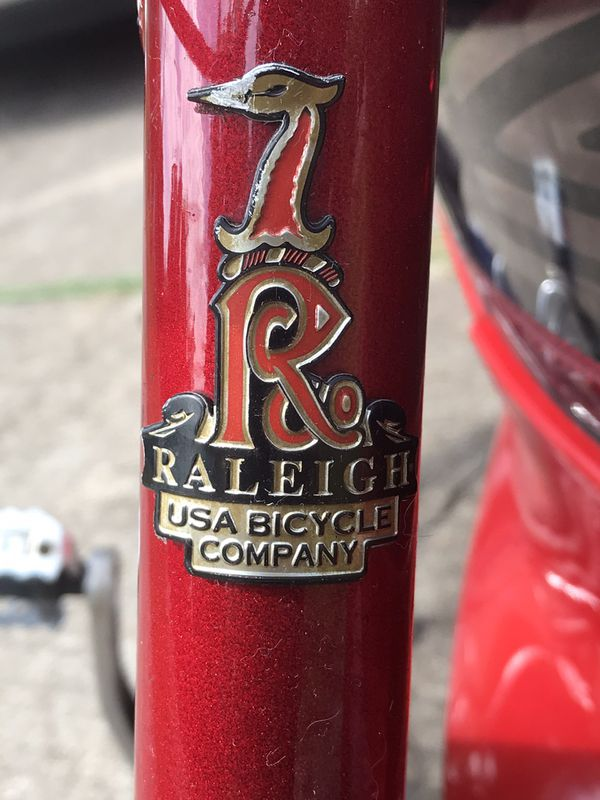 Mountain bike (Raleigh M-80)