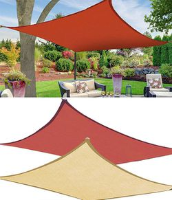New in box $45 each Square 16'x16' Sun Shade Sail Outdoor Canopy Patio Top Cover for Sale in El Monte,  CA