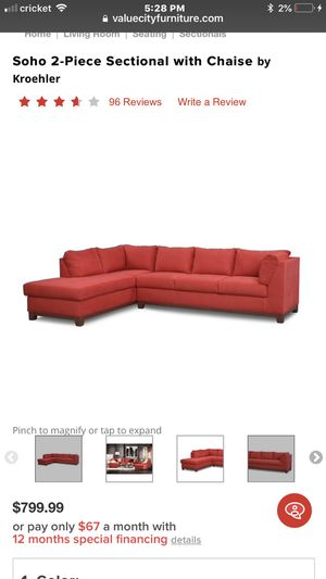 Couch sectional for Sale in Herndon, VA