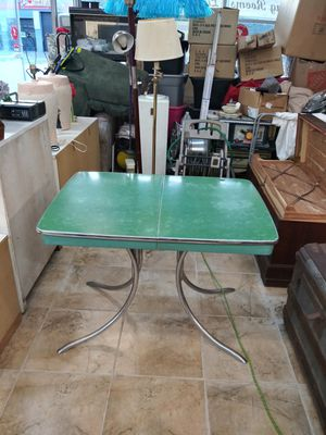 1960 modern flormica table for Sale in Cranston, RI