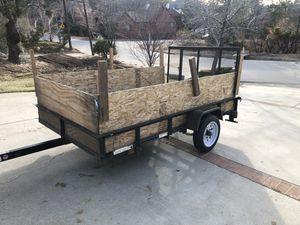 Utility trailer 5x8 for Sale in Lake Arrowhead, CA