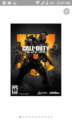 PC Games: COD BLACK OPS 4 AND STARWARS OLD REPUBLIC for Sale in Phoenix, AZ
