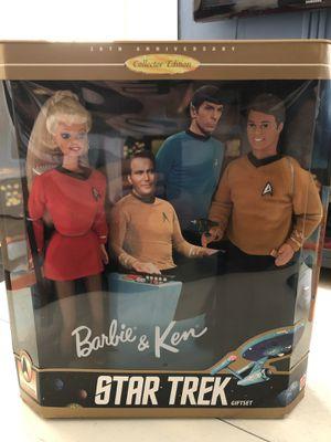 1996 Star Trek gift set Barbie & Ken (new) Mattel for Sale in Castro Valley, CA