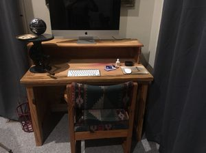 Desk and chair for Sale in Sandy Hook, VA