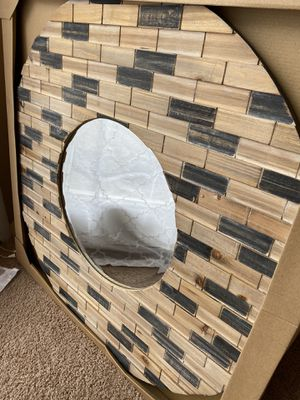 Wood wall mirror for Sale in Columbus, OH