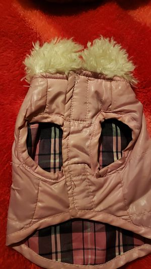 Small pink coat for a puppy for Sale in Houston, TX