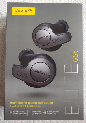Jabra Elite 65t True Wireless Earbud for Sale in Katy, TX