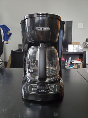 Black+Decker 12-Cup Programmable Coffee Maker for Sale in Nashville, TN