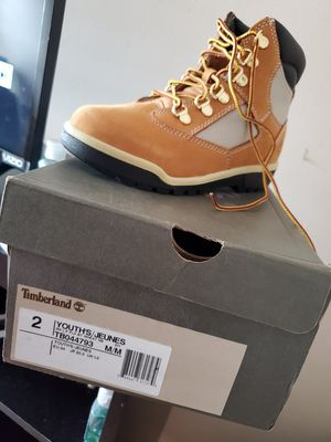 Timberland Boots. Brand new. Size 2 youth for Sale in Lawrenceville, GA