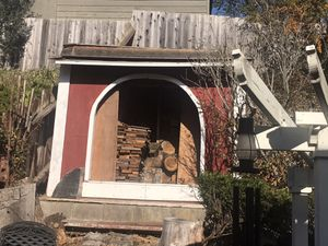 Barnlike wood shed and fore wood... crispy fall is here and winter is coming:) for Sale in San Bruno, CA