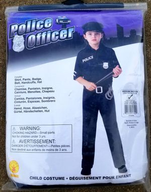 Children's Police Costume (M) 8/10 - BRAND NEW!! for Sale in Manchester, PA