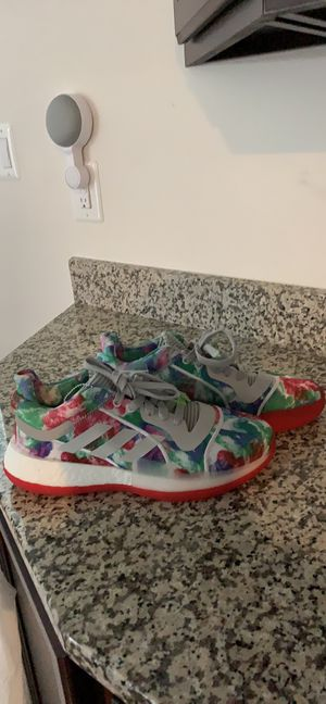 "NEW Adidas ""United By Creativity"" EXCLUSIVE Basketball Tye-Dye Shoes Size 9 Mens for Sale in Clarksburg, MD"