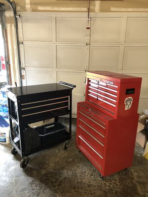 Both tool boxes, plenty of room for tools . for Sale in Joint Base Lewis-McChord, WA