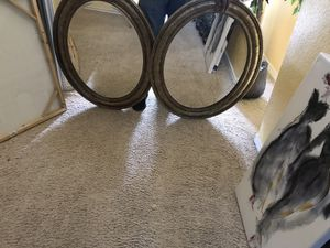 2 oval mirrors for Sale in Killeen, TX