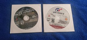 NFS MOST WANTED & GRAN TURISMO 4 PS2 GAME DISC ONLY COMBO for Sale in Missouri City, TX
