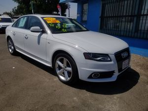 2012 AUDI A4 AUTOMATIC PREMIUM. ZERO TO LOW DOWNPAYMENT REQUIRED for Sale in Modesto, CA