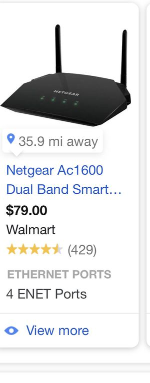 Netgear Router for Sale in Lawton, OK