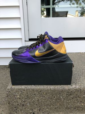Kobe 5 Lakers for Sale in Williamsville, NY